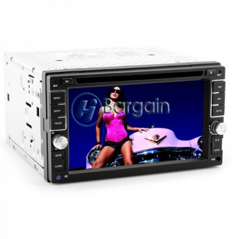 2 DIN 6.2 Inch Car DVD Player 'Powerslam',1080p,GPS,Bluetooth,RDS