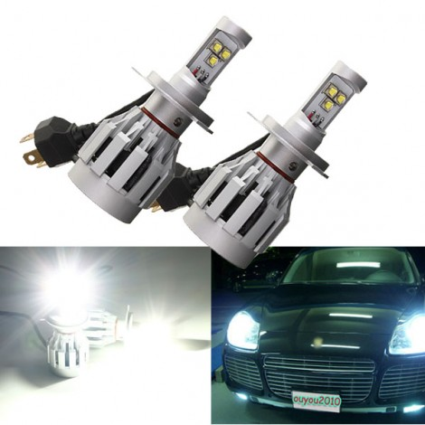 2PCS  60W 3000lm H4(9003/HB2) Car Cree LED Headlight Kit Bulbs Lamp H/L