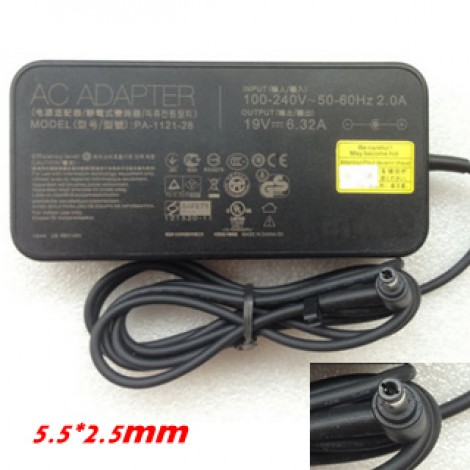 For ASUS PA-1121-28 AC Adapter Battery Charger 19V 6.32A 120W