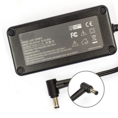 Replacement For Asus ADP-150NB D Charger 19.5V 7.7A 150W with Free Power Cord