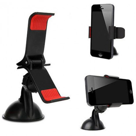 Universal Car Windshield/Dashboard Mount Holder for iPhone GPS