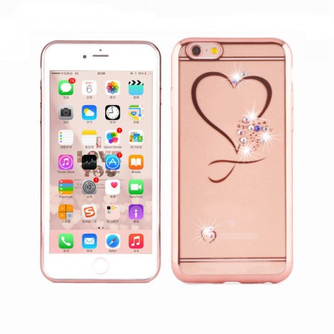 Soft TPU Bling Diamond Case Cover For iPhone 6 6S /6 6s Plus