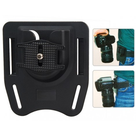 K-BM1 DSLR Digital Camera Belt Mount/Button/Holder