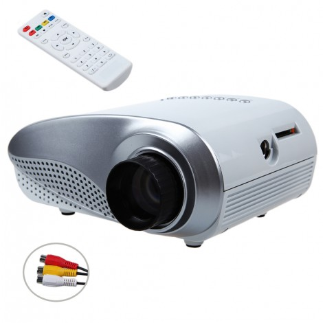 RD-802 Mini LED Projector With HDMI AV/VGA/SD/USB/TV Home Theater