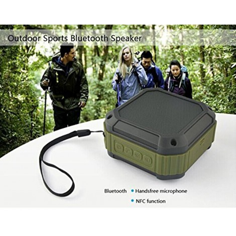 Portable Bluetooth 4.0 Speaker waterproof and Shockproof Wireless Bluetooth Speaker