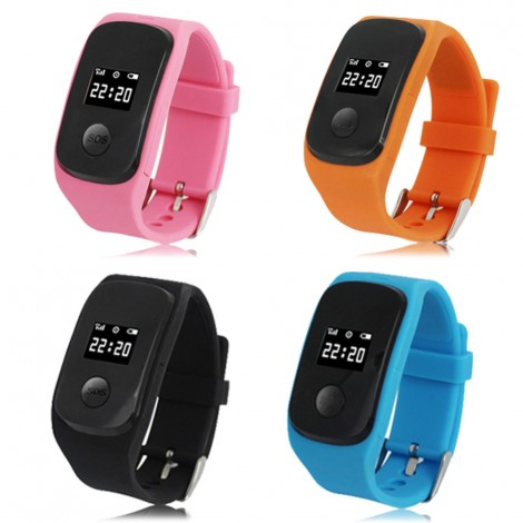 PG22 GPS Tracking Watch Phone for Children SIM GSM Network SOS
