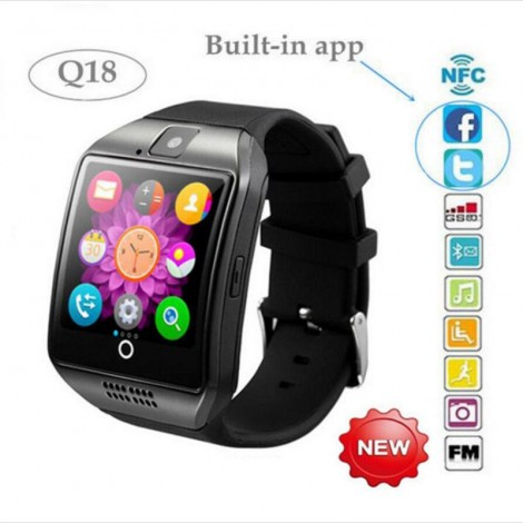 Q18 Smart Watch Phone for Android Samsung HTC SIM Card