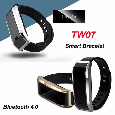 Smart Bracelet Band TW07 Sport Fitness Bluetooth Wristband Pedometer
