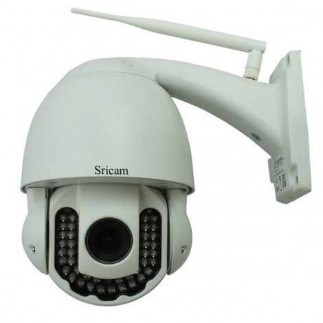 Wireless HD 720P H.264 5x Optical Zoom Outdoor IP Camera Sricam AP005