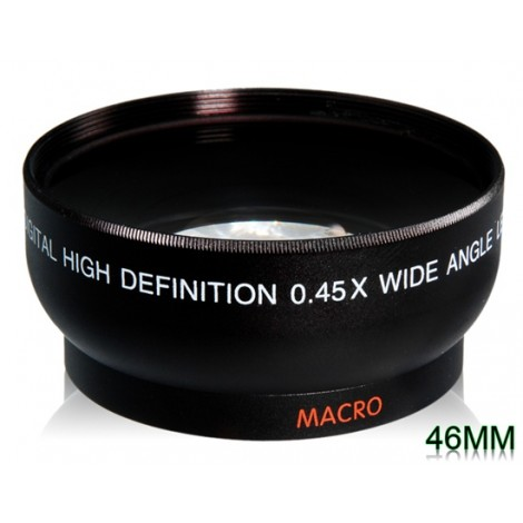 46mm 0.45x Super Wide Angle Lens for DSLR Cameras