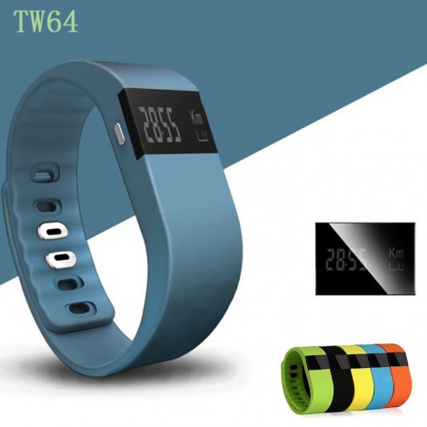 TW64 Bluetooth SmartBand Smart Fitness Bracelet Watch Sports Wristwatch