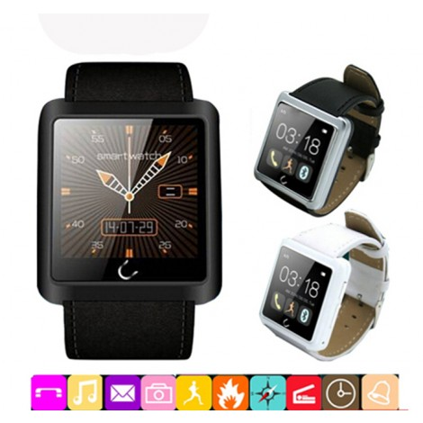 U10L Bluetooth Smart Watch WristWatch U Smartwatch Sync Phone Call SMS