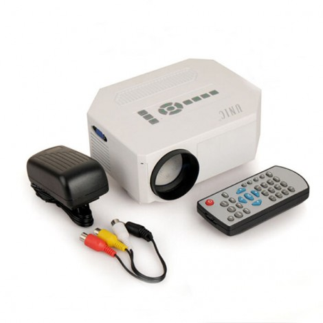 UC30 MINI LED Projector Home Theater AV/VGA/USB/SD/Micro USB