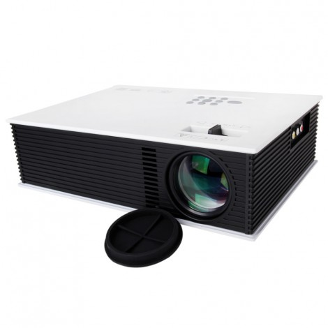 Unic UC80 1500 lumens HD Led Projector with HDMI Support 1080P