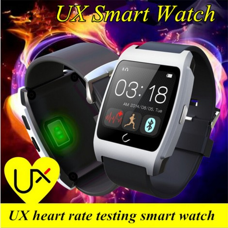 UX Smart Watch with Heart Rate Monitor Perfectly Compatible With IOS & Android