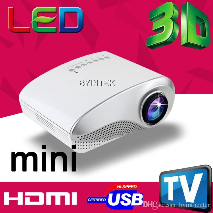 cheap mini led projector lcd video pico hd portable 1080p. Black Bedroom Furniture Sets. Home Design Ideas