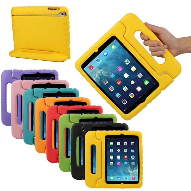 drop shock proof smart cover for apple ipad air 2 cases kids children safe