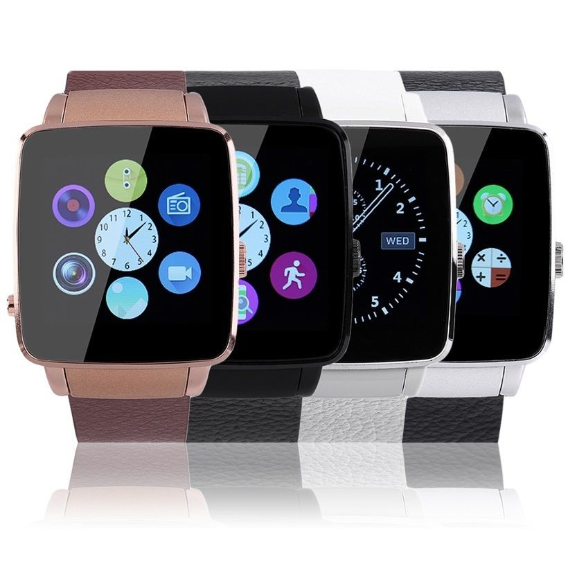 X6 Bluetooth Smart Watch Pedometer Music Anti-theft For Android Phone OE