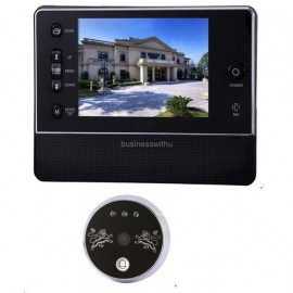 3.5 inch LCD Digital Peephole Viewer 120 Degrees Doorbell Door Eye IR Camera