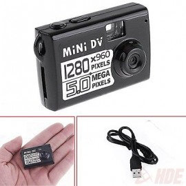 5MP HD Mini DV Spy Video Recorder Camcorder Webcam DVR