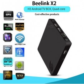 Beelink x2 Android 4.4 TV BOX H3 Quad-core Cortex-A7 4K*2K HD 1080P