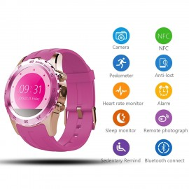 KW08 Bluetooth Smart Watch Sports NFC Wrist GSM