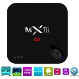 MXIII Android 4.4 TV Box Amlogic S812 Quad Core 2GB RAM 8GB ROM H.265 Decoding