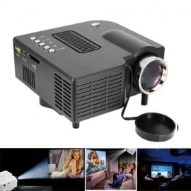 Mini UC28 HD Home LED Projector VGA USB SD AV HDMI