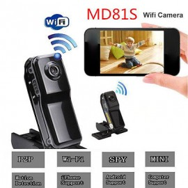 WiFi Camera DV Wireless IP Camera HD Micro Spy Hidden Mini camcorders Cam MD81S