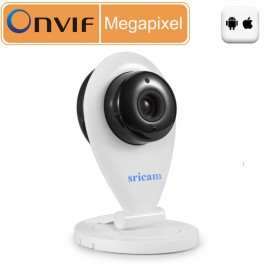 Wireless HD 720P WiFi IP Camera ONVIF Network Security Audio Night Vision