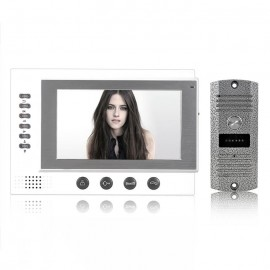 7 Inch Video Doorbell Intercom Door Phone Night Vision