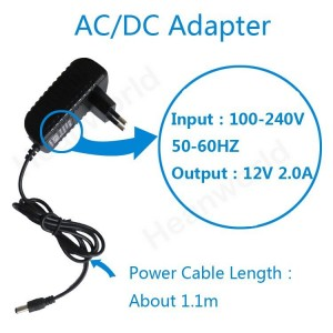 12V 2A Power Adapter For IP Camera And DVR