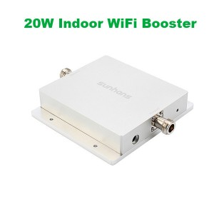 2.4Ghz 43dBm Indoor 20W WiFi Signal Booster/Repeater/amplifer