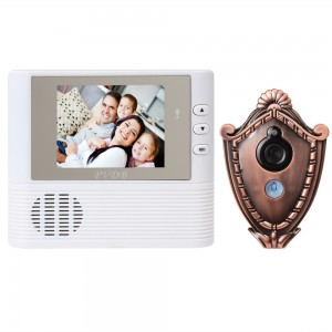 2.8 TFT LCD Color Video Phone Intercom Door Camera Wired