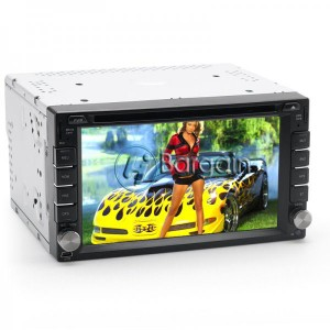 2 DIN 6.2 Inch Car DVD Player with MHL 'Rogue'