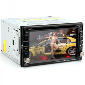 2 DIN 6.2 Inch Universal Car DVD Player GPS, iPod/iPhone Support, RDS, Bluetooth