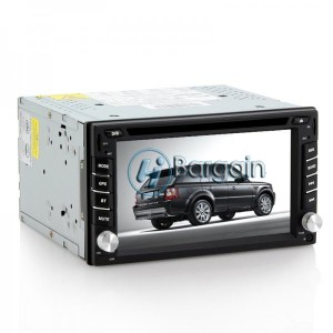 2 DIN Android 4.2 Car DVD Player - Dual Core 1.0GHz CPU, 6.2 Inch Capacitive Touchscreen, GPS, Wi-Fi, 3G, Bluetooth