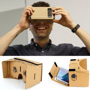 Clear Google Cardboard 3D VR Virtual Reality 3D Glasses