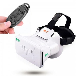 3D Glasses Head Mount 360 Degree VR Virtual Reality Google+Remote Control