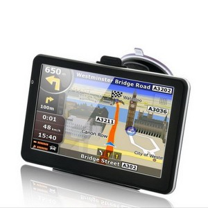 7 inch Car GPS Navigation FM 4GB/128M DDR/800MHZ Russia/Belarus/Spain/ Europe/USA+Canada/Israel