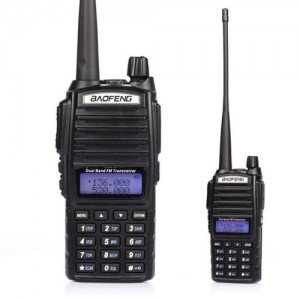 Baofeng UV-82 VHF/UHF MHz Dual-Band Ham Walkie Talkies Two-way Radio