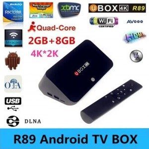 Beelink R89 Android 4.4 TV Box RK3288 Quad Core 2GB 16GB