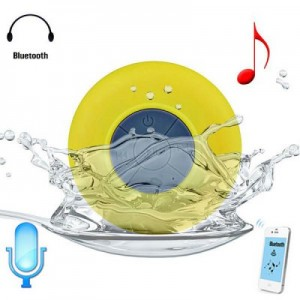 Bluetooth Water Resistant Shower Speaker with Sucker
