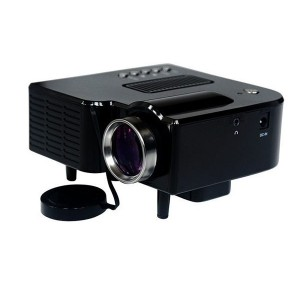BT-60 LED Projector HD 400 Lumens Home Theater 320 x 240 Pixels