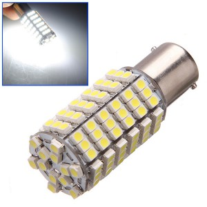 Car 120 LED 3528 SMD 1156 BA15S Pure White Fog Light Bulb