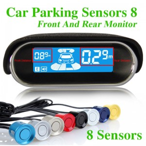 Car Parking Sensors 8 Front And Rear Monitor