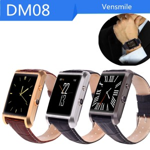 DM08 Bluetooth Smart Watch WristWatch Smartwatch Hd camera for Android , iPhone Sync