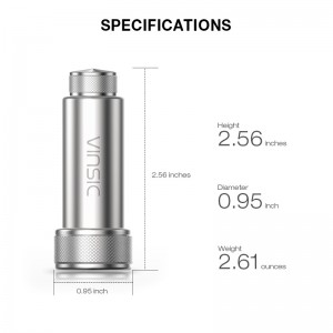 24W Dual USB Port 4.8A Speed USB Car Charger [Premium Stainless Steel]