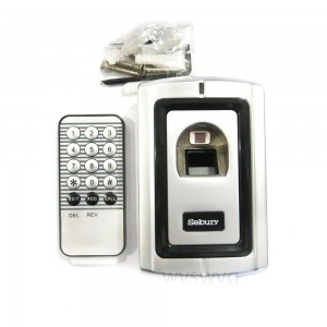 Biometric Fingerprint Door Access Control Controller Metal Case