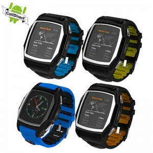 Waterproof GT68 Bluetooth Smart Watch Phone GPS Mate For Android iOS iphone